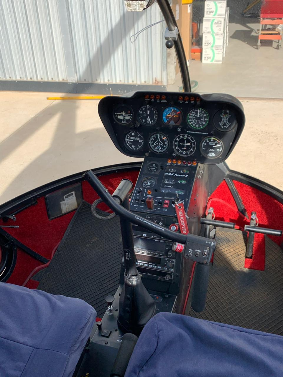 R44 helicopter for sale - Kriek Helicopters