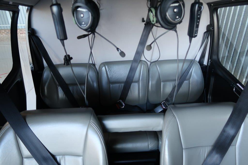 Robinson R66 for sale interior - Kriek Helicopters